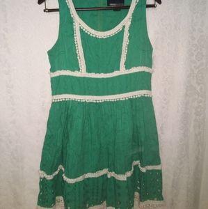 🍀FOREVER 21 green dress. Size 8🍀